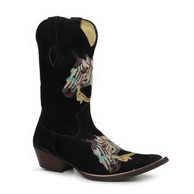 Bota Country Texana Masculina Bico Fino Couro Nobu... - JMCOUNTRY