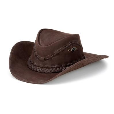 Chapéu Country Texano Unissex em Couro Legítimo No... - JMCOUNTRY
