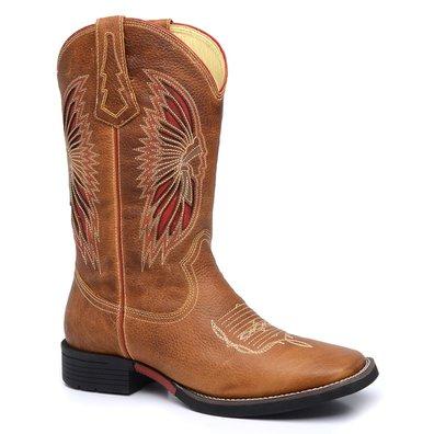 bb4578d7b4 Bota Country Masculina Texana JM Country Couro Pit.