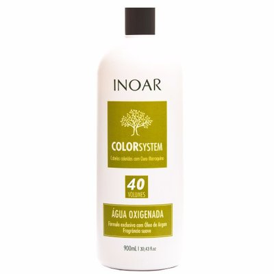 Agua Oxigenada Ox 40 Volumes 900ml Inoar Color System