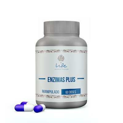 Enzimas Plus - 60 Doses