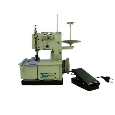 Máquina de Costura Galoneira Portatil 2 Agulhas Bracob BC-2600P + BRINDES ESPECIAIS (ESCOLHA DO CLIENTE)