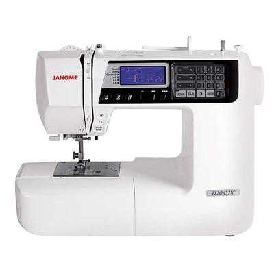 Máquina de Costura Janome 4120QDC + BRINDES ESPECIAIS (ESCOLHA DO CLIENTE)