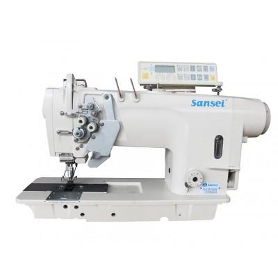 Máquina de Costura Pespontadeira Eletrônica Barra Alternada Sansei SA-8750D