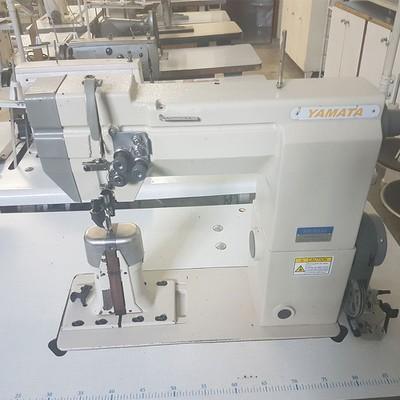 Máquina de Costura Transporte Duplo 02 Agulhas Yamata SM-9920 + BRINDES ESPECIAIS (ESCOLHA DO CLIENTE)