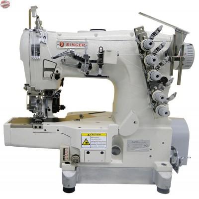 Máquina de Costura Galoneira Cilíndrica Singer 542D-364-31R-BR com Catraca