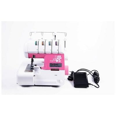 Máquina de Costura Overlock Doméstica Sun Point Pink