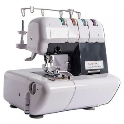 Máquina de Costura Overlock Doméstica Sun Point Cinza SS320BL + BRINDES ESPECIAIS (ESCOLHA DO CLIENTE)