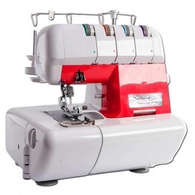 Máquina de Costura Overlock Doméstica Sun Point Vermelha SS320V