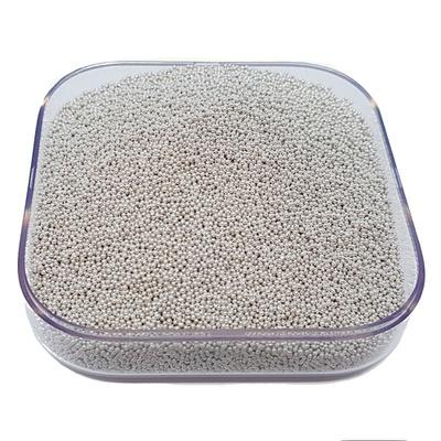 Caviar De Vidro Cor Prata.