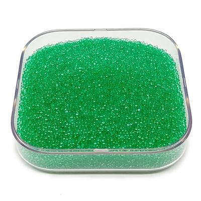 Caviar De Vidro Cor Verde.