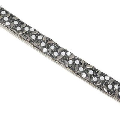 Tira Infinity Large Veneza Black Diamond - 40x1,5cm