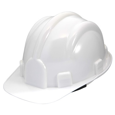 Capacete Aba Frontal Branco Pro Safety