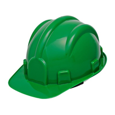 Capacete Aba Frontal Verde Pro Safety