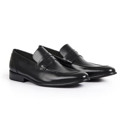 Sapato Social em Couro Preto - Piazza - CLUBE DO HOMEM Calçados e Acessórios Masculino
