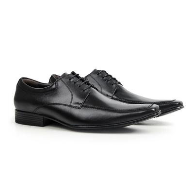 Sapato Social em Couro Preto - Nomad - CLUBE DO HOMEM Calçados e Acessórios Masculino
