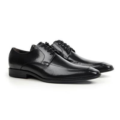 Sapato Social em Couro Preto - Chelsea - CLUBE DO HOMEM Calçados e Acessórios Masculino