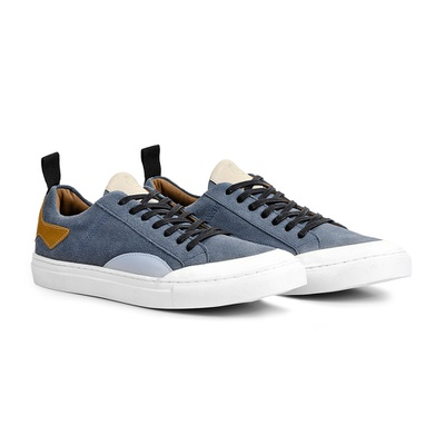 Tênis Azul Acero - California - CLUBE DO HOMEM Calçados e Acessórios Masculino