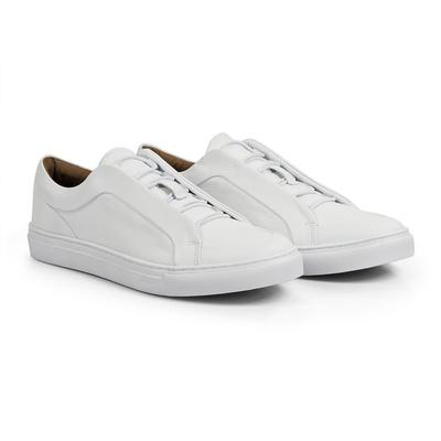 Tênis Branco - Campbell - CLUBE DO HOMEM Calçados e Acessórios Masculino