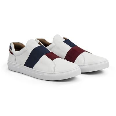Tênis Branco - Saratoga - CLUBE DO HOMEM Calçados e Acessórios Masculino