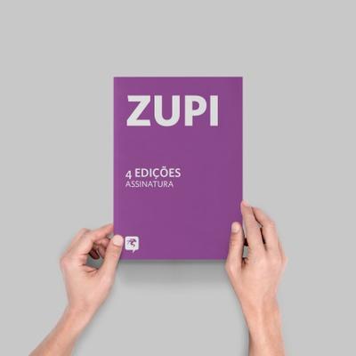 Assinatura Revista Zupi - 4 edições - assinatura-z... - Shop Pixel Show