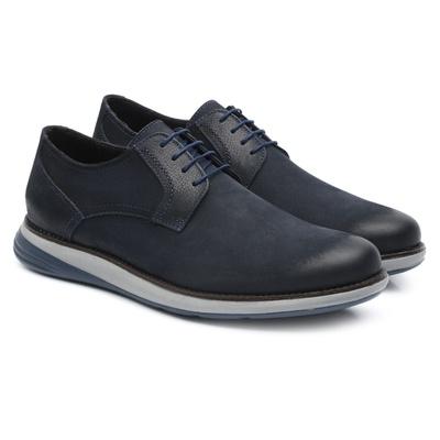 Sapato Casual Derby Marinho 9400 - JACOMETTI