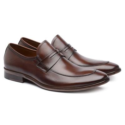 Sapato Social Masculino Chocolate B59 - JACOMETTI