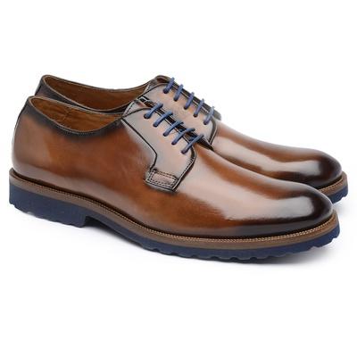Sapato Casual Café Bro004 - JACOMETTI