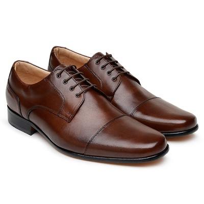 Tamanho Especial Sapato Social Scatamacchia Chocol... - JACOMETTI