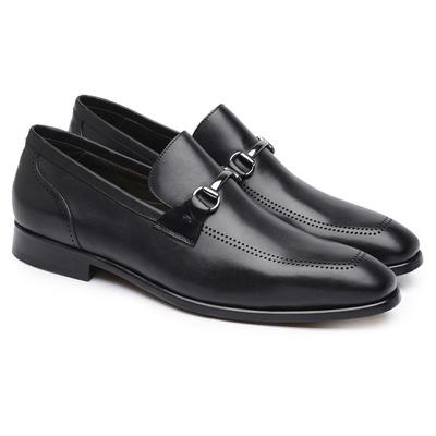 Loafer Preto Gno016 - JACOMETTI