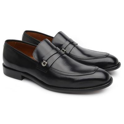 Sapato Social Masculino Preto H22 - JACOMETTI