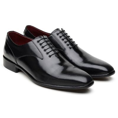 Sapato Scatamacchia Preto LI05 - JACOMETTI
