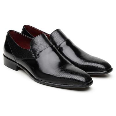 Sapato Scatamacchia Preto LI06 - JACOMETTI