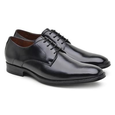 Sapato Social Masculino Derby Preto Npl010 - JACOMETTI