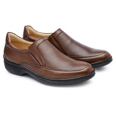 Sapato Casual Masculino Long Time Bronze SC04 - JACOMETTI
