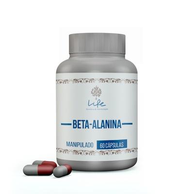 Beta Alanina 500mg - 60 cápsulas