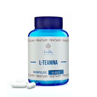 L-Teanina 200mg - 60 Doses