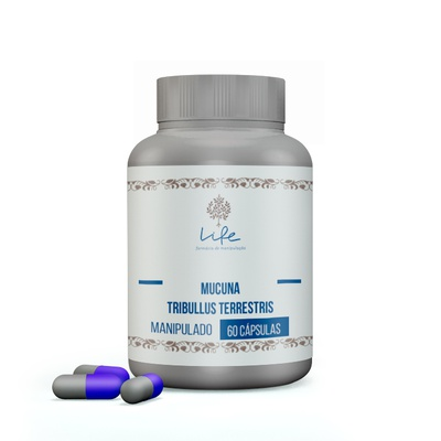 Mucuna 200mg + Tribulus 250mg - 60 Doses