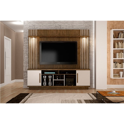 Home Theater Valdemoveis Plenus Ypê/Off White
