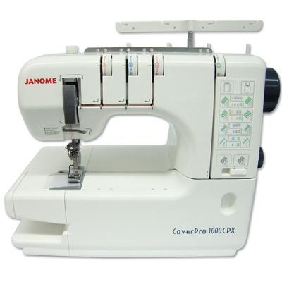 Máquina de Costura Galoneira Janome 1000CPX + BRINDES ESPECIAIS (ESCOLHA DO CLIENTE)