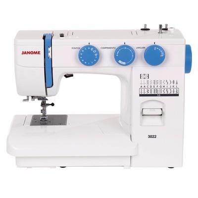 Máquina de Costura Janome 3022 + BRINDES ESPECIAIS (ESCOLHA DO CLIENTE)
