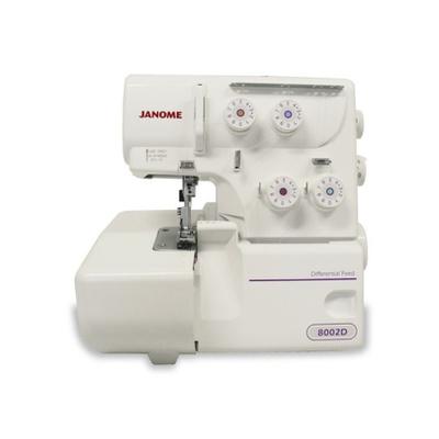 Máquina de Costura Overlock Janome 8002D + BRINDES ESPECIAIS (ESCOLHA DO CLIENTE)