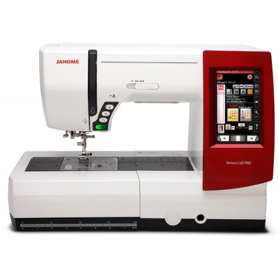 Máquina de Bordar e Costurar Janome 9900 + BRINDES ESPECIAIS (ESCOLHA DO CLIENTE)
