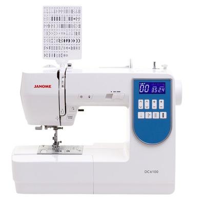Máquina de Costura Janome DC6100 + BRINDES ESPECIAIS (ESCOLHA DO CLIENTE)