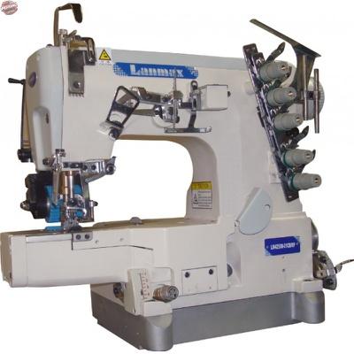 Máquina de Costura Galoneira Cilíndrica Lanmax LM-42500-01CB/RP com Catraca