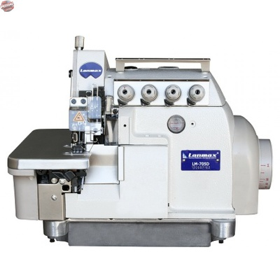 Máquina de Costura Interlock Direct Drive Lanmax LM-705D