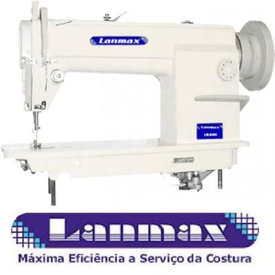 Máquina de Costura Reta Lançadeira Grande Lanmax LM-8400