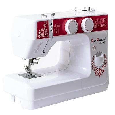 Máquina de Costura Doméstica Sun Special Sun Lady Vermelha SS-988V