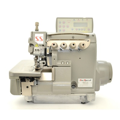 Máquina de Costura Overlock Eletrônica Ponto Cadeia Sun Special SS-6814T-03/UTC2-AK-CF