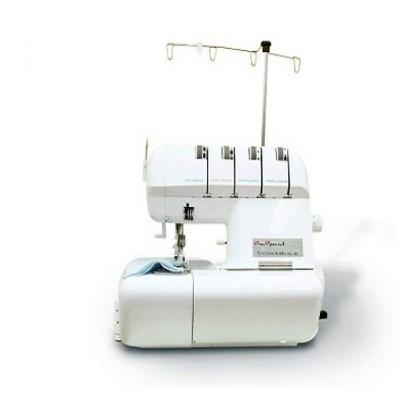 Máquina de Costura Overlock Doméstica Sun Point Branca SS320B